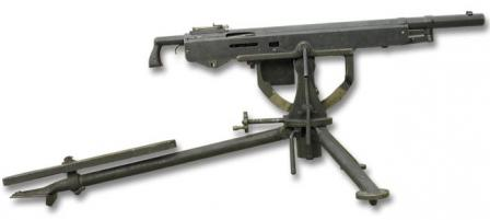 Colt Browning M1895 machine gun.