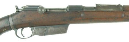 Rifle model 1935 / puska 35M, close-up view to receiver and magazine.