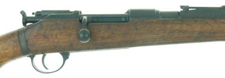 G98/40 or 43M rifle, close-up view to receiver.