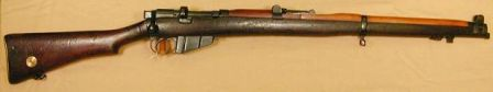 SMLE mk. III* (latter known as SMLE No.1 Mk.3); this one was made in 1919.
