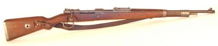 Mauser K98k - same 1944-made specimen, right side view.