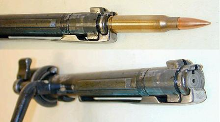 Famous model 98 bolt. Top - showing the