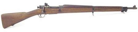 M1903A3 made by Remington during the World War 2 - right side.