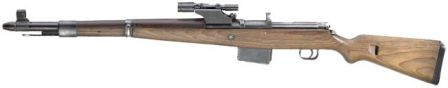 Walther G.41(W) rifle, sniper version.
