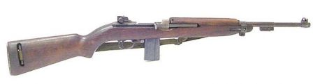 Same M1 carbine, right side.