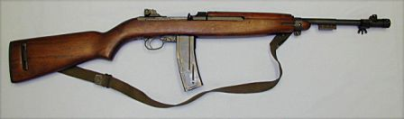 M2 carbine, a select-fire modification with enlarged, 30-round magazine.