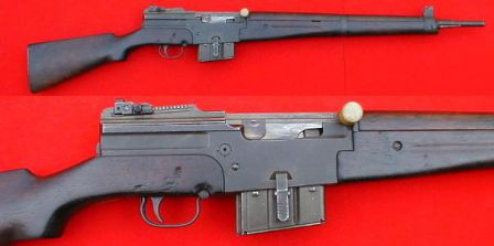MAS-1949 rifle.