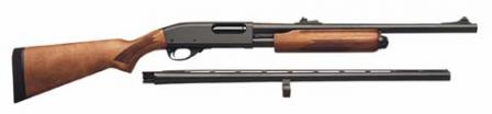 Remington 870 Express Combo with spare barrel.