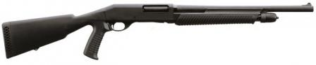 "Stoegermodel P350 shotgun, Defense version with short 18.5"" (47 cm)barrel, pistol-grip stock and blade&bead front sight."