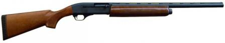 Hawk model SF28WB semi-automatic shotgun, hunting configuration. Note that it uses more common underbarrel tubular magazine.