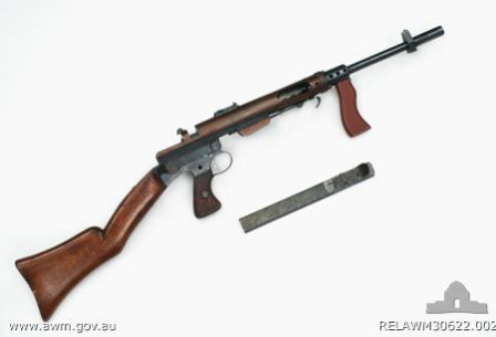 Owen 32ACP prototype submachine gun (1940)