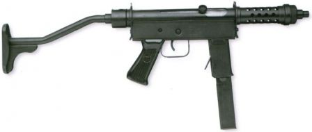 Mekanika URU submachine gun.