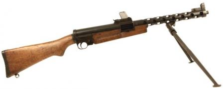 ZK-383 submachine gun,right side.