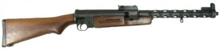 ZK-383P submachine gun; note that it has no facilities to mount a bipod.