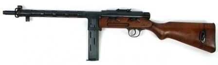 Star RU-35 submachine gun, left side.