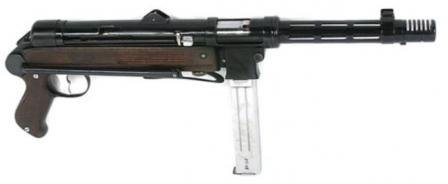 Star Z-45 submachine gun.