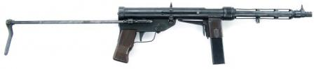 TZ-45 submachine gun.