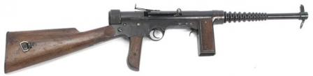 Labora submachine gun, less magazine.