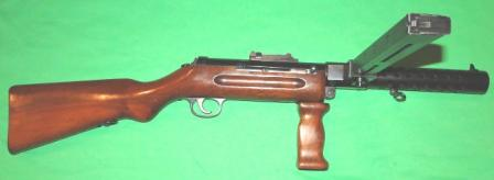 SIG Model 1930 submachine gun.