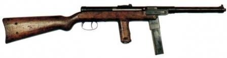 Mors wz.39 submachine gun