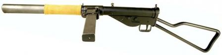 STEN Mk.IIS (STEN Mark 2 Silenced) submachine gun.