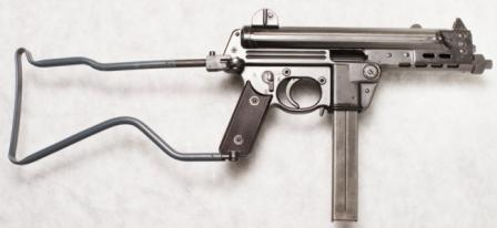 Walther MPK submachine gun.