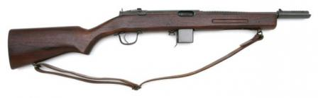 Late production ReisingM50 submachine gun,