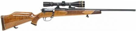 Mauser 66 hunting rifle, which served as a starting point for a sniper weapon.