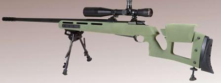 GOL-Sniper Magnum rifle, left side.