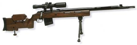 7.62mm MTs-116M sniper rifle.