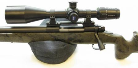 Styria Arms CSR99 sniper rifle; close-up view on the left-handed version of the basic design.