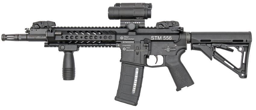 Steyr-Mannlicher STM-556 / Rheinmetall-Steyr RS-556 assault rifle