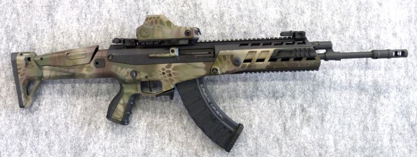 AK-Alfa assault rifle, right side
