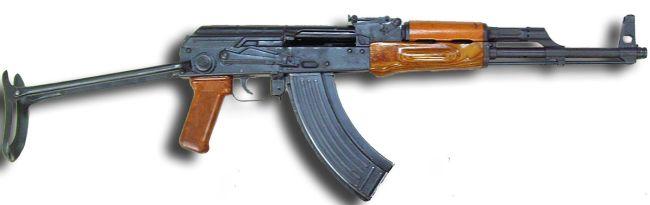 Kalashnikov AKMS - AKM with folding buttstock