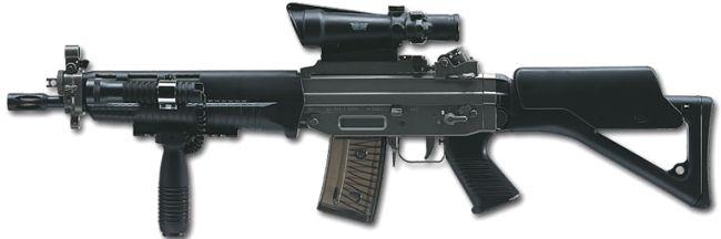 Sig 550 Series Modern Firearms