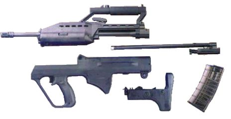 ST Kinetics SAR-21 - Modern Firearms