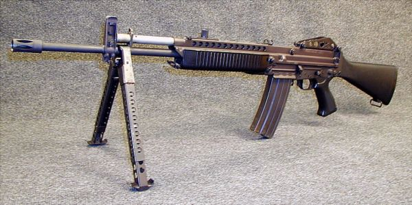 Stoner 63 modern firearms 556mm stoner 63a rifle with detachable bipod altavistaventures Image collections