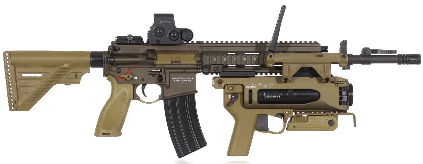 Heckler-Koch HK-416 carbine / assault rifle - Modern Firearms