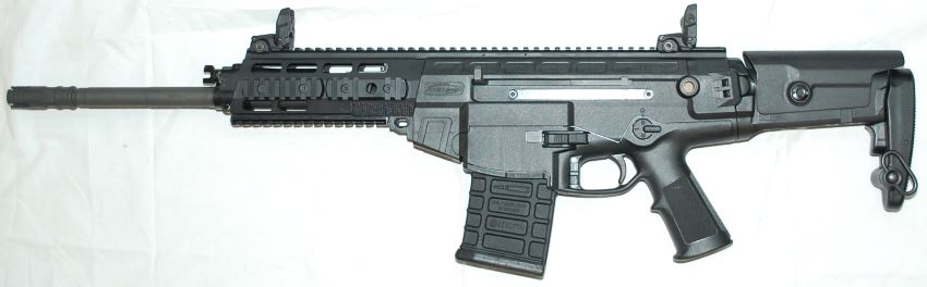 Beretta ARX-200 automatic rifle - left side