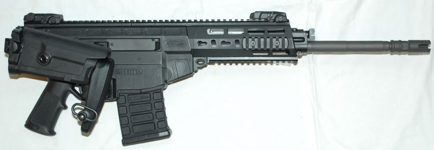 Beretta ARX-200 automatic rifle with shoulder stock folded