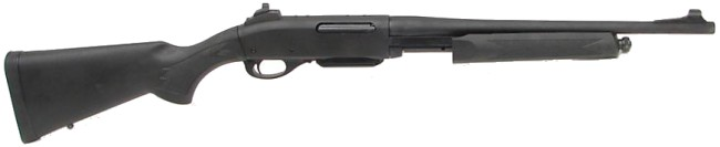 Remington model 7600P 'Police' pump-action rifle / carbine.