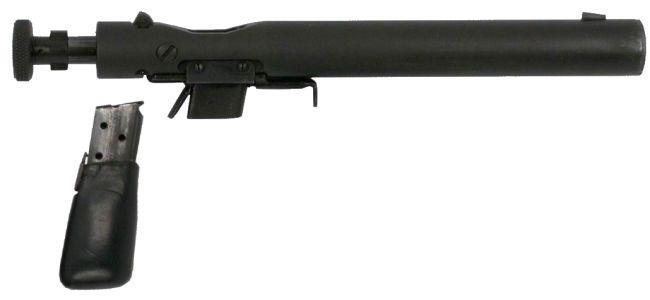 Welrod Pistol Firing
