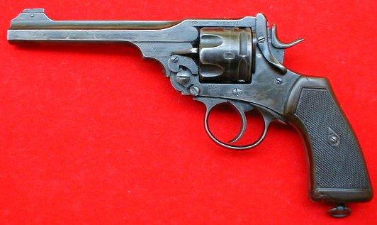 Webley Revolver - Modern Firearms