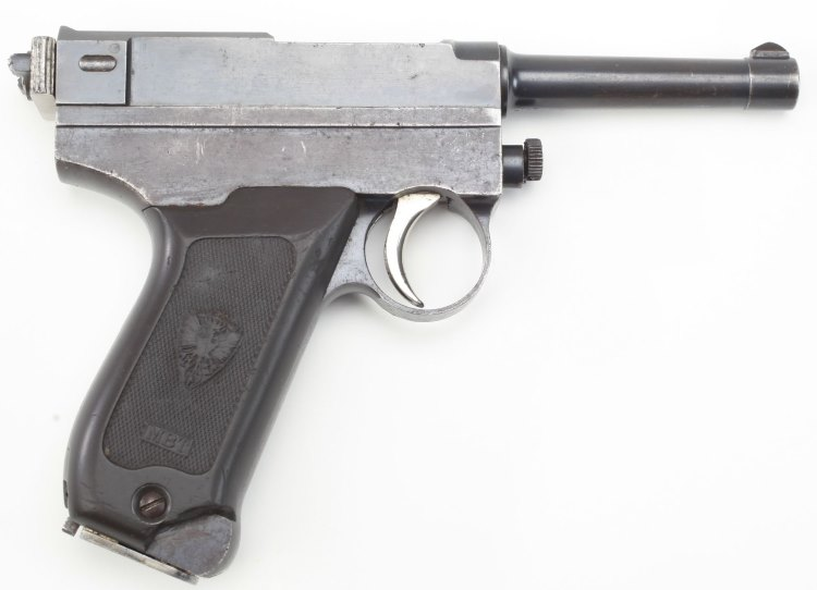 Brixia M1913 pistol - right side