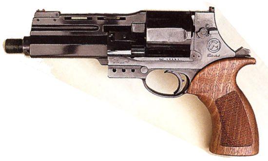 Marushin GHOST IN SHELL Togusas Mateba M-M2007 Revolver (HW/BK ...