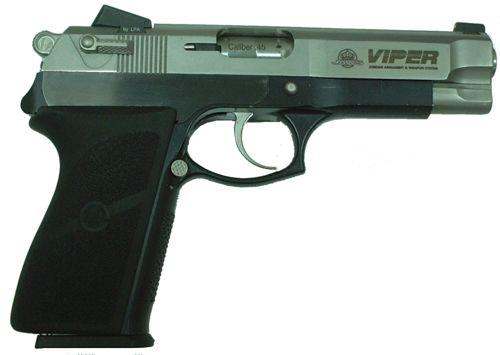 new styles 01f25 89b1b Viper pistol, right side view.