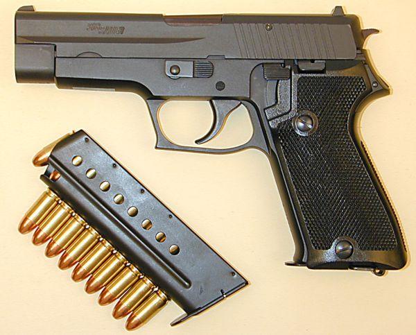 P220 Sig Pistol Modern Firearms