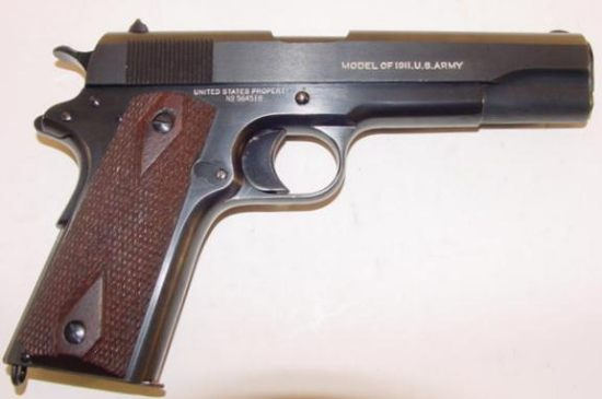 Colt M1911 Pistol - Modern Firearms