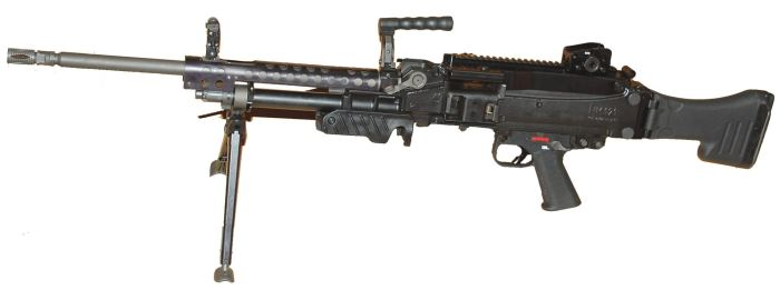 пулемет Heckler-Koch HK MG5
