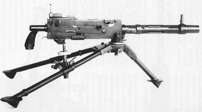 Browning M1917 M1919 - Modern Firearms